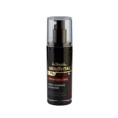Oxygenating and moisturizing cream