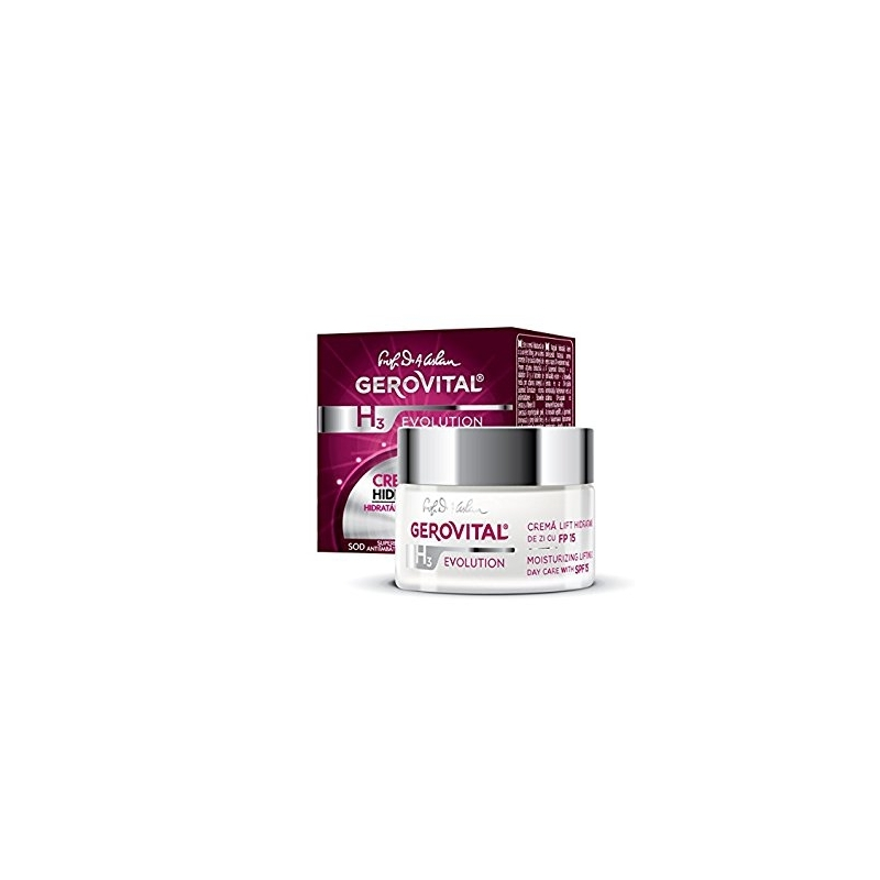 Moisturizing Lifting Cream for day care with SPF15