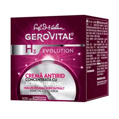 Anti Wrinkle Cream Concentrated with Hyaluronic Acid