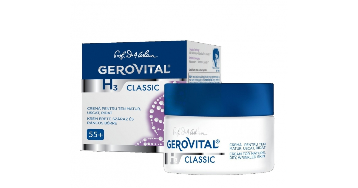 Cream for mature dry wrinkled skin