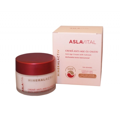 Anti-aging Cream with Calcium (with Goji)